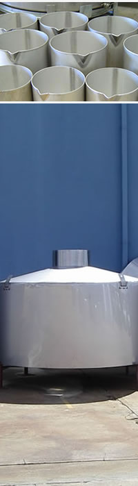 Stainless Steel Buckets and Tank